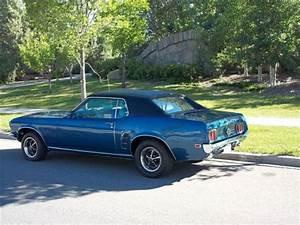 1969 Ford Mustang Coupe Grande Acapulco Blue 302 CID 2 bbl