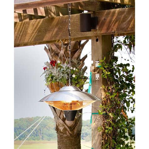 sense hanging halogen patio heater 177142