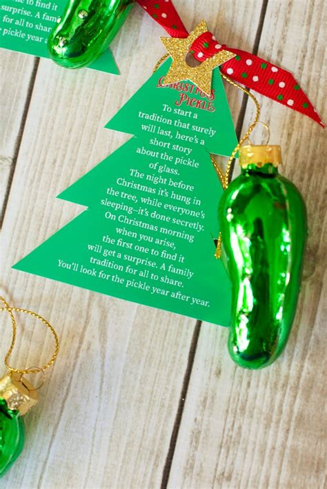 christmas pickle ornament poem email facebook google twitter related galleries - Pickle Christmas Ornament Story