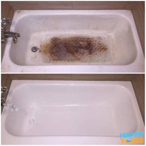 bathtub refinishing happy tubs bathtub repair and