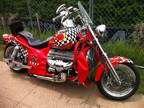 Boss Hoss Motorcycle Chevy 350 Engine In A Motorcycle
