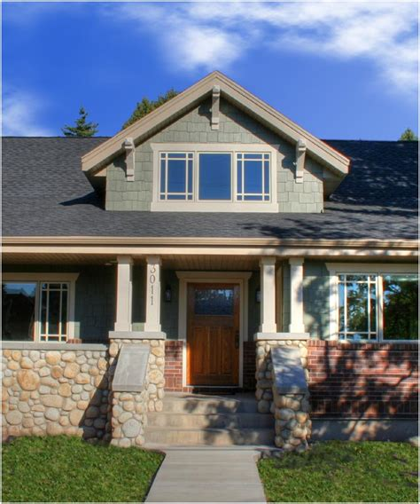 craftsman style porch ranch style homes craftsman craftsman style bungalow