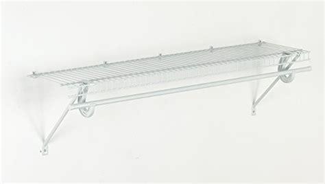 closetmaid superslide shelving closetmaid 5631 superslide ventilated shelf kit with