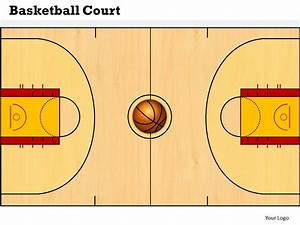 best photos of 8 12 x 11 printable basketball court With basketball court design template