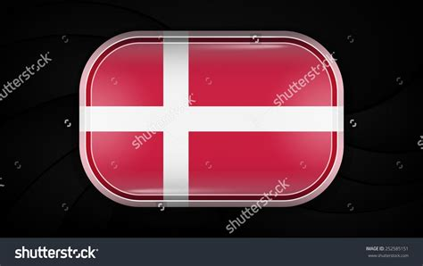Some areas in denmark have unofficial flags, listed below. Denmark. Vector Flag Button Series. Rectangular Shape This ...