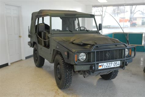 Vw Type 183 Iltis 4x4 Utility Vehicle Photos