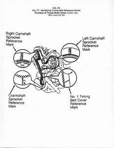 Service Manual  How To Set Timing For A 1999 Lexus Lx