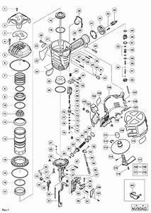 Hitachi Nv90ag Parts