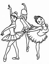 Coloring Ballet Dance Pages Class Dancing Ballerina Friends Female Bear Drawing Learning Young Template Shoes Tap Sky Sketch Print Utilising sketch template