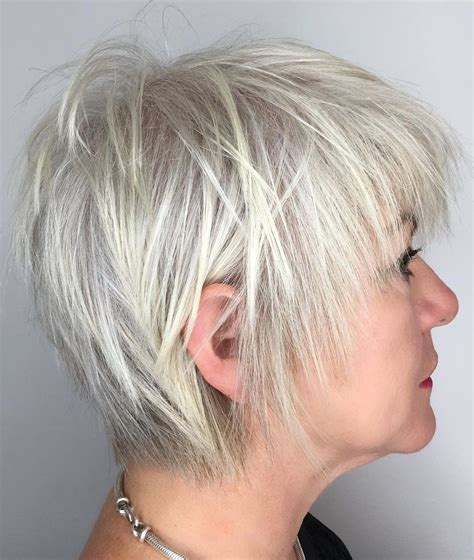 60 Trendiest Hairstyles and Haircuts for Women Over 50 in
