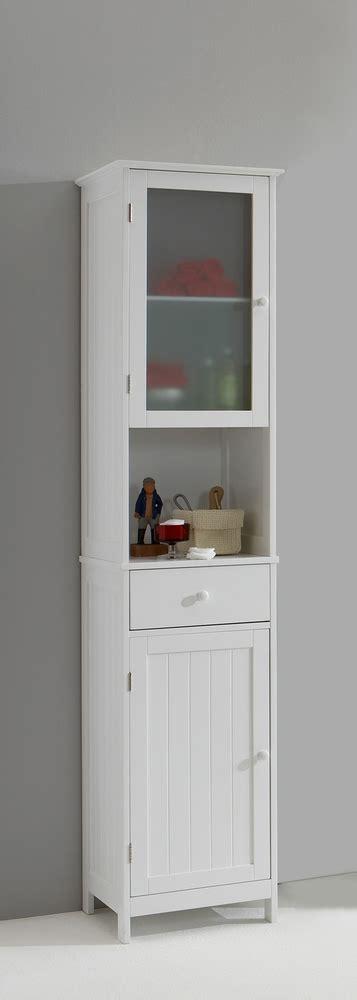 tallboy bathroom cabinet colonne stockholm blanc 14614