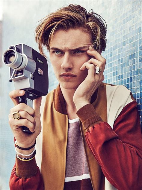 lucky blue smith   cover boy  gq spain march  issue