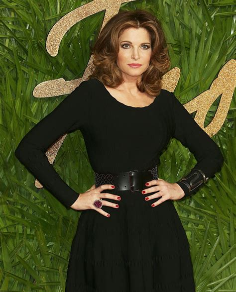 Stephanie Seymour British Fashion Awards London