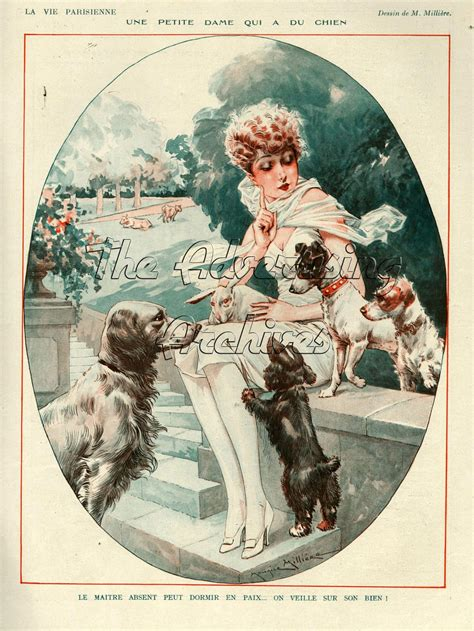 the advertising archives la vie parisienne goes dog crazy