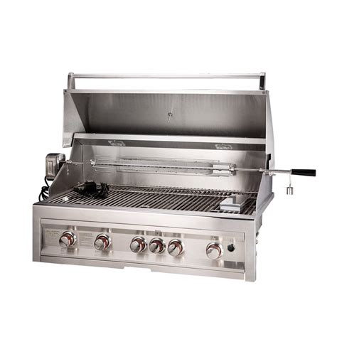 gasgrill mit smoker shop sunstone 4 burner gas gas grill with