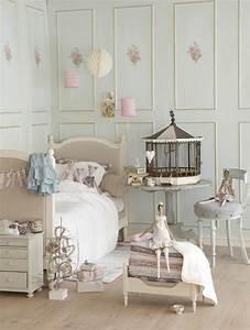 26 idees pour deco chambre ado fille With chambre bébé design avec housse de couette fleurie vintage