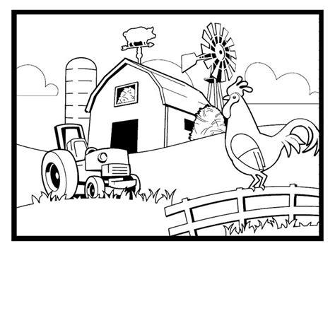 Best 25 Farm Coloring Pages Ideas On Pinterest