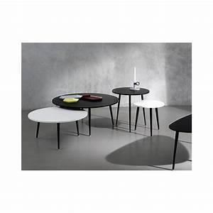 Petite Table Basse : petite table basse ronde soho co dition ~ Teatrodelosmanantiales.com Idées de Décoration