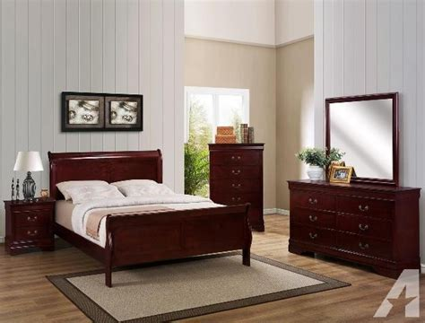 complete bedroom sets with mattress 7pc solid wood complete or size bedroom set