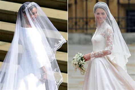 Meghan Markle, Kate Middleton, Royal Wedding Comparison