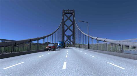 Bay Bridge Network Draggable Double Deck Suspension