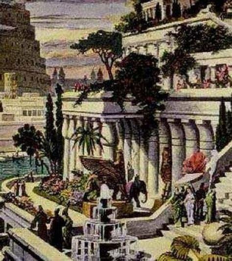les jardins suspendus de babylone l une des 7 merveilles