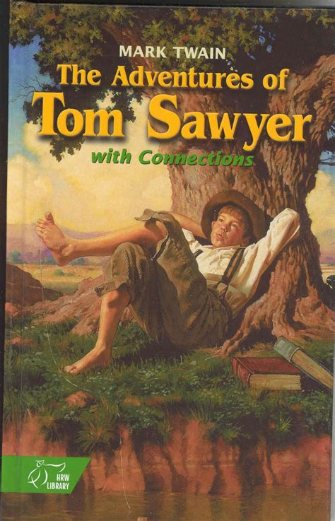 Hannah Is Reading Adventures Of Tom Sawyer Huckleberry