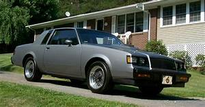 1987 Buick Regal Turbo T Gray Metallic