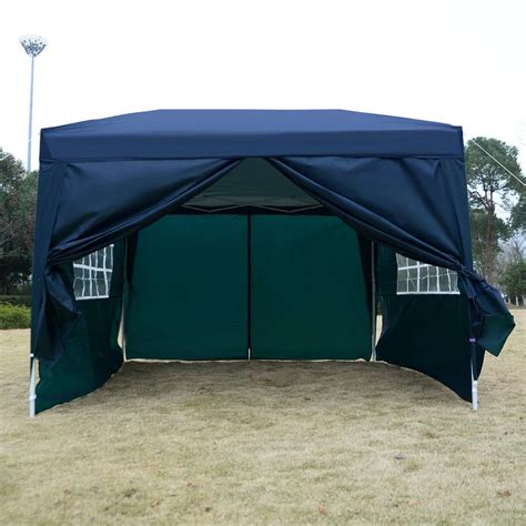 easy up canopy tent 10 x 10 ez pop up tent canopy gazebo
