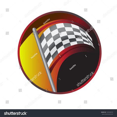 racing flag jpg version stock illustration