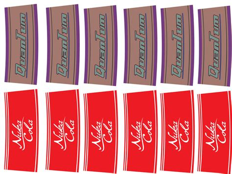 nuka cola quantum label printout nuka cola and quantum labels by falloutfood by falloutfood