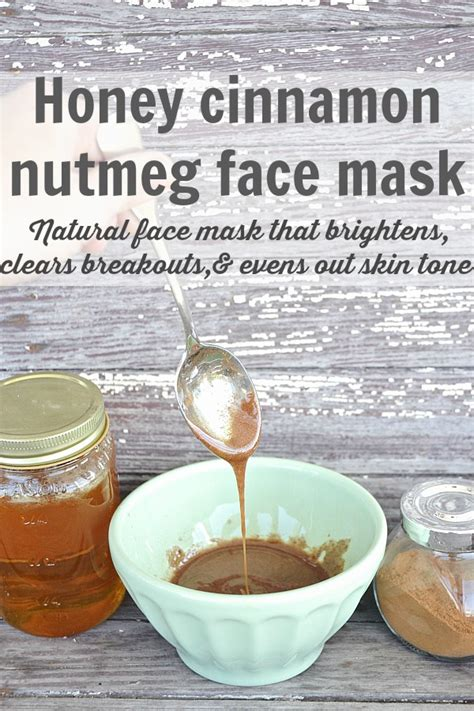 Benefits of honey for skin face include reducing wrinkles, cleansing pores much more applying honey on face brings about a natural glow learn all about for using honey as a moisturizing mask: DIY Honey Cinnamon Nutmeg Face Mask - Liz Marie Blog
