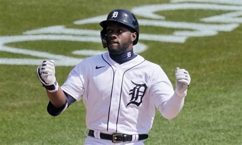 Tigers' Akil Baddoo homers on first MLB pitch; his parents ...
