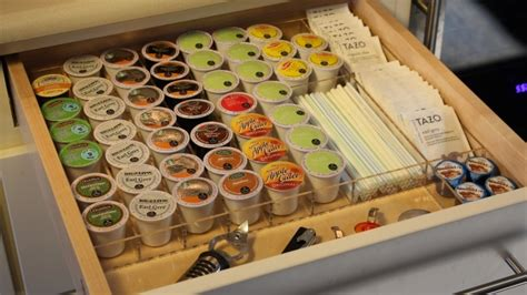 k cup drawer organizer k cup drawer organizer custom acrylic drawer organizers