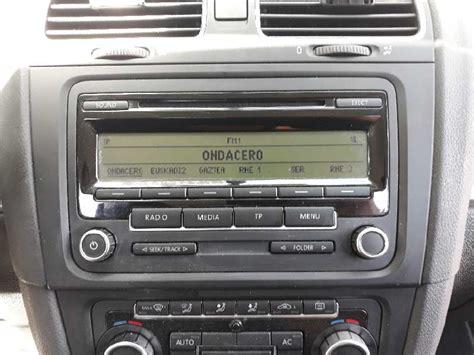 radio golf 6 radio vw golf vi 5k1 1 6 tdi 1k0057186aa b parts