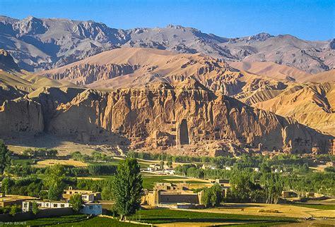 bamyan valley  afghanistan thousand wonders