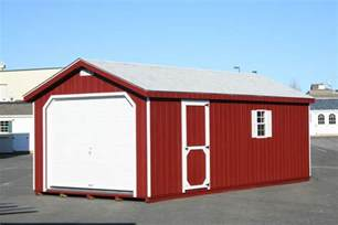 amish built 12x24 a frame garage storage shed duratemp