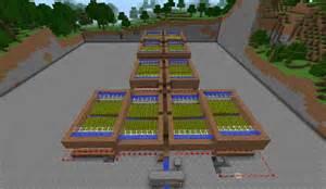 Minecraft Automatic Wheat Farm