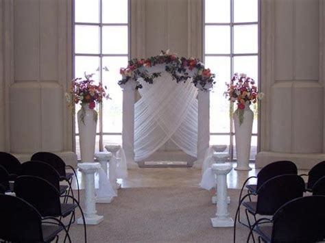 Floral Column And Pillars Wedding Decoration Wedding