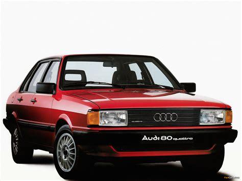 Audi 80 quattro B2 (1982–1984) photos (1600x1200)