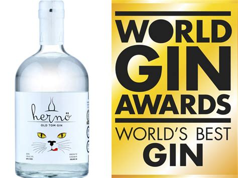 Best Gin In The World Winners Of The World Gin Awards 2018 Hern 246 Scoops Gold