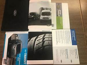 2019 19 Ford Transit Owners Manual Book Oem