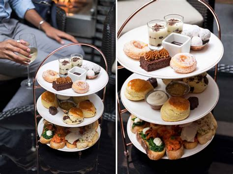 Flavours Of The Mediterranean In The Afternoon Tea At May