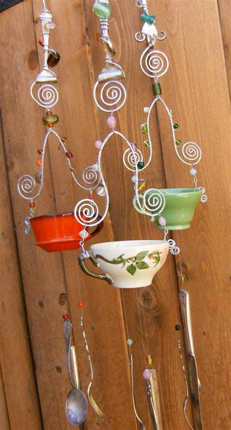 simple  beautiful diy wind chimes ideas