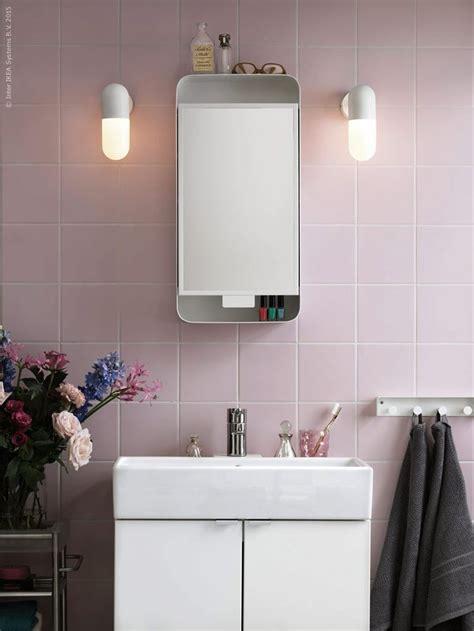 ikea gunnern mirror cabinet bathroom pink ikea s finest