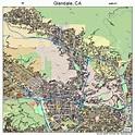 Glendale California Street Map 0630000