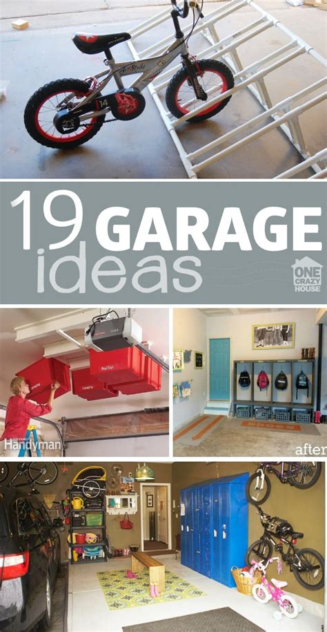 garage organization ideas one house 18 garage envy ideas knitting crochet