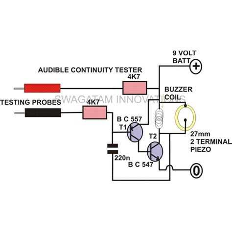 test l circuit build yourself a simple continuity tester repository