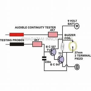 how to make a continuity tester circuit With led tester circuit