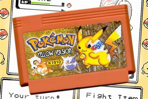 Pokemon Yellow Rom Unofficial Pokemon Yellow Remake For Nintendo Nes Fan